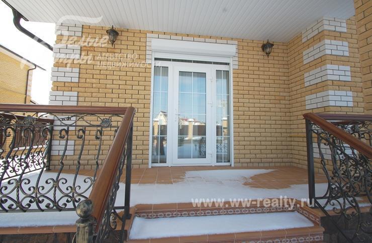 Дома с выходом на террасу из кухни фото