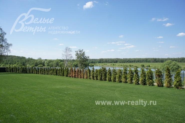 Вид на озера из дома Ольги Бузовой